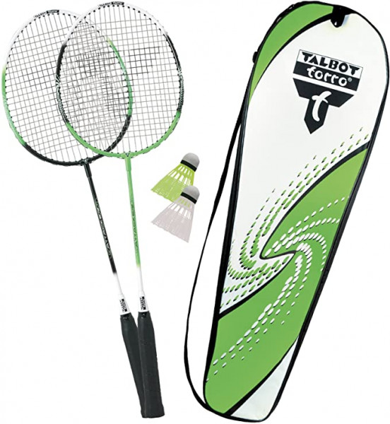 BADMINTON SET 2-ATTACKER MIT TRAGETASCHE (449511)